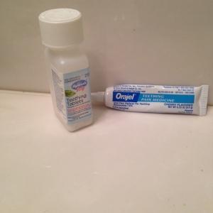 Teething Tablets& Oragel
