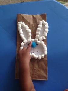 Toddler Bunny Craft