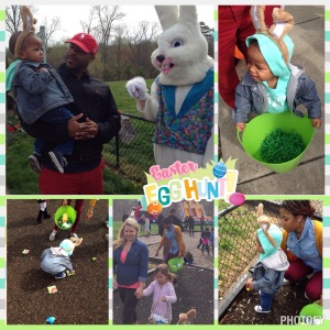 First Easter Egg Hunt