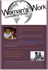 Breatfeeding Training